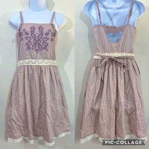 Willow & Clay Anthropologie boho prairie dress